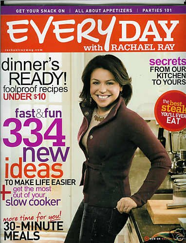 EVERYDAY WITH RACHAEL RAY MAGAZINE MARCH 2009