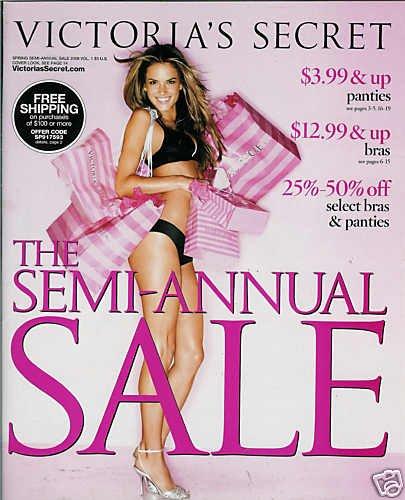 VICTORIA'S SECRET CATALOG SPRING ANNUAL SALE 2009 VOL.1