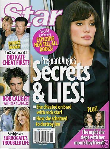 STAR MAGAZINE MAY 18, 2009 ANGELINA JOLIE