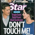 STAR MAGAZINE APRIL 6, 2009 BRAD PITT, ANGELINA JOLIE