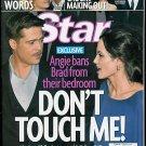 STAR MAGAZINE APRIL 6, 2009 BRAD PITT, ANGELINA JOLIE