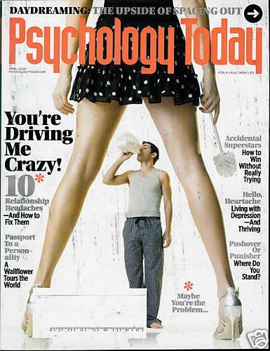 PSYCHOLOGY TODAY MAGAZINE APRIL 2009