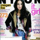 NYLON MAGAZINE OCTOBER 2009 MEGAN FOX