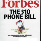 FORBES MAGAZINE NOVEMBER 16, 2009 THE $10 PHONE BILL