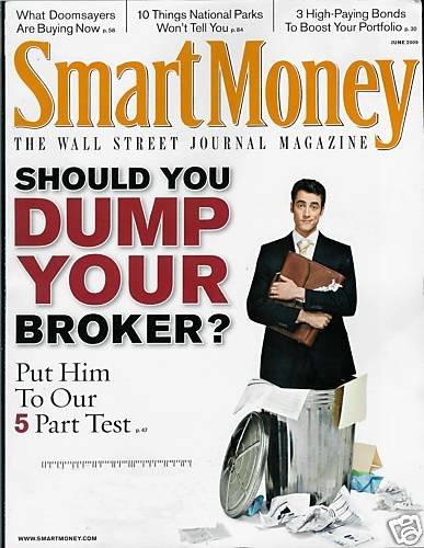 SMART MONEY THE WALL STREET JOURNAL MAGAZINE JUNE 2009
