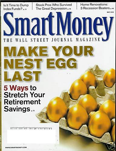 SMART MONEY THE WALL STREET JOURNAL MAGAZINE MAY 2009