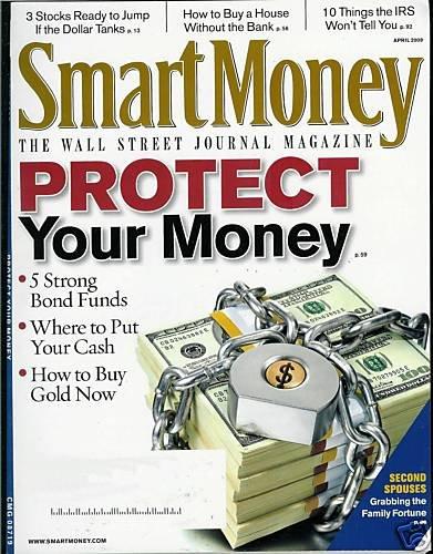 SMART MONEY THE WALL STREET JOURNAL MAGAZINE APRIL 2009