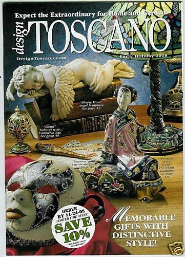 DESIGN TOSCANO CATALOG EARLY HOLIDAY 2008