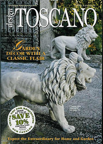 DESIGN TOSCANO CATALOG SUMMER 2008