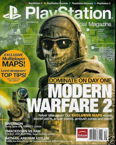 PLAYSTATION: THE OFFICIAL MAG. DEC/2009 MODERN WARFARE2