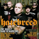 REVOLVER MAGAZINE NOVEMBER 2009 HATEBREED