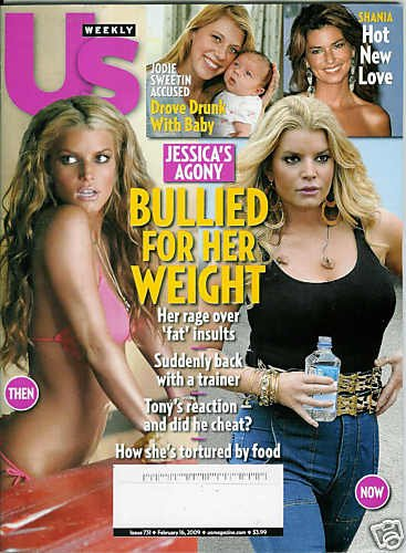 US WEEKLY MAGAZINE FEBRUARY 16, 2009 JESSICA SIMPSON