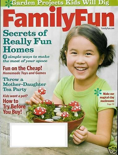 FAMILY FUN MAGAZINE MAY 2009