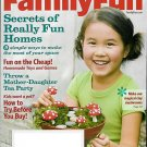 FAMILY FUN MAGAZINE MAY 2009