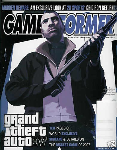 GAME INFORMER MAGAZINE # 169 MAY 2007 GRAND THEFT AUTO IV