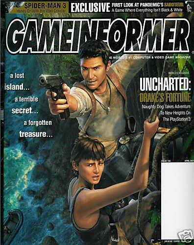 GAME INFORMER MAGAZINE # 168 APRIL 2007 UNCHARTED