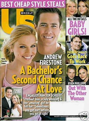 US WEEKLY MAGAZINE JUNE 23 ,2008 ANDREW FIRESTONE