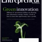 ENTREPRENEUR MAGAZINE APRIL 2010 GREEN INNOVATIONS