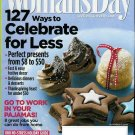 WOMAN'S DAY MAGAZINE NOVEMBER 17, 2009