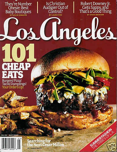 LOS ANGELES MAGAZINE MAY 2009