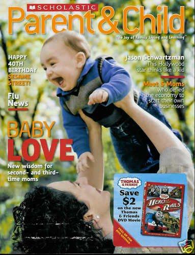 SCHOLASTIC PARENT & CHILD MAGAZINE NOVEMBER 2009