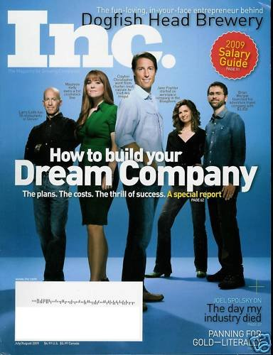 INC. MAG. JUL/AUG 2009 HOW TO BUILD YOUR DREAM COMPANY