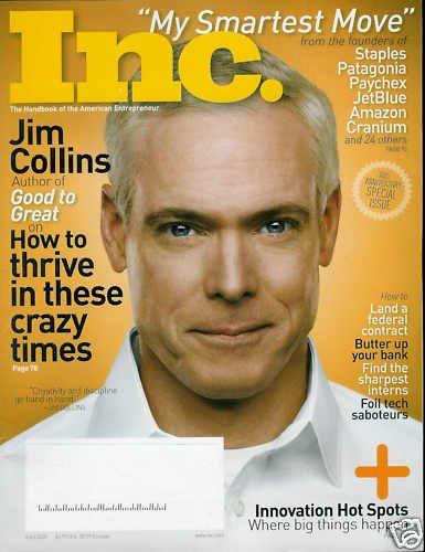 INC. MAGAZINE APRIL 2009 JIM COLLINS