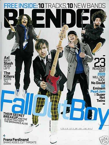 BLENDER MAGAZINE FEBRUARY 2009