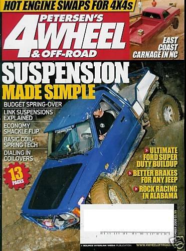 4 WHEEL & OFF-ROAD MAGAZINE SEPTEMBER 2009