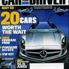 CAR AND DRIVER MAGAZINE MAY 2009 VOL. 54 No. 11
