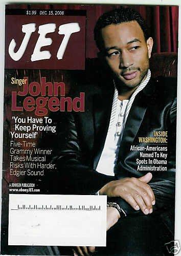 JET MAGAZINE DEC. 15, 2008 JOHN LEGEND