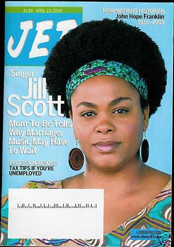 JET MAGAZINE APRIL 13, 2009 JILL SCOTT