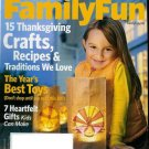 FAMILY FUN MAGAZINE NOVEMBER 2009