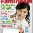 FAMILY FUN MAGAZINE DECEMBER / JANUARY 2010