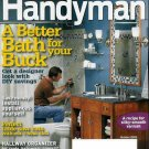 THE FAMILY HANDYMAN MAGAZINE OCTOBER 2009 BATHROOM MAKEOVER