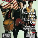 ROLLING STONE MAGAZINE MAY 28, 2009 GREEN DAY