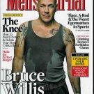 MEN'S JOURNAL MAGAZINE MARCH 2010 BRUCE WILLIS