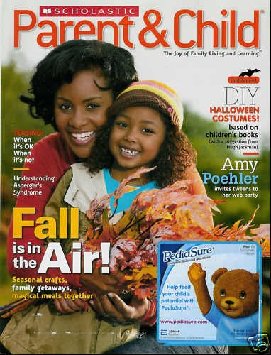 SCHOLASTIC PARENT & CHILD MAGAZINE OCTOBER 2009
