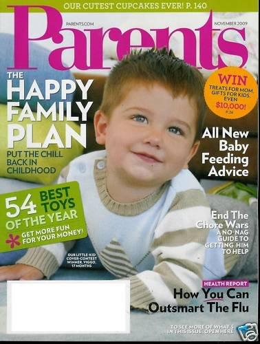PARENTS MAGAZINE NOVEMBER 2009