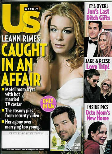 US WEEKLY MAGAZINE MARCH 30, 2009 LEANN RIMES