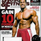 MUSCLE & FITNESS MAGAZINE NOVEMBER 2008 CHAD CROUSE
