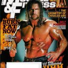 MUSCLE & FITNESS MAG SEPT. 2009 TRIPLE H & DAVE PALUMBO