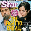 STAR MAGAZINE DECEMBER 14, 2009 BRAD & ANGELINA