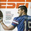ESPN MAGAZINE SEPTEMBER 21, 2009 TIM TEBOW