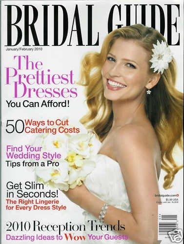 BRIDAL GUIDE MAGAZINE JANUARY / FEBRUARY 2010