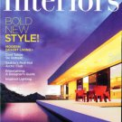 WESTERN INTERIORS & DESIGN MAGAZINE DECEMBER - JANUARY  2009