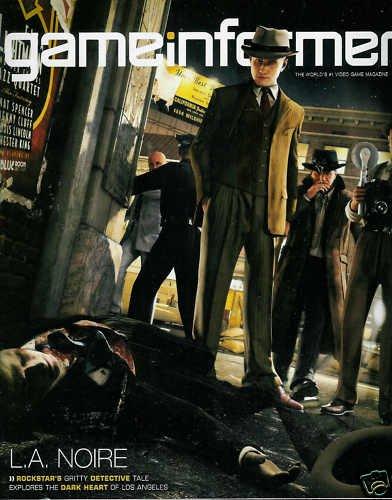 GAME INFORMER MAGAZINE #203 MARCH 2010 L.A. NOIRE