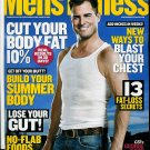 MEN'S FITNESS MAGAZINE FEBRUARY 2010 GEORGE EADS
