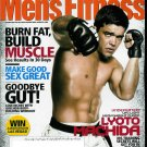 MEN'S FITNESS MAGAZINE NOVEMBER 2009 LYOTO MACHIDA