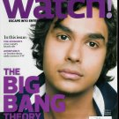 WATCH! MAGAZINE OCTOBER 2009 KUNAL NAYYAR, GOSSIP GIRL'S
